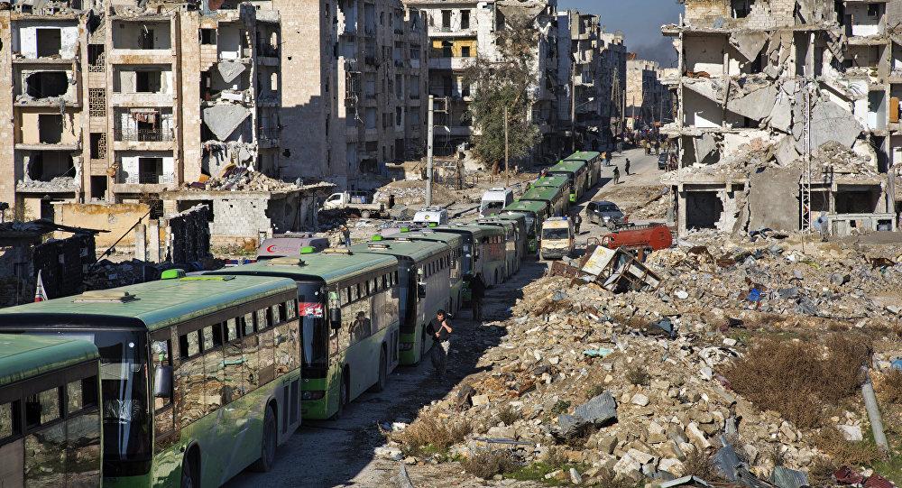 Evacuazione di Aleppo