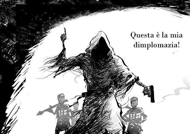 Vignetta, Il Prezzo Della Dimplomazia