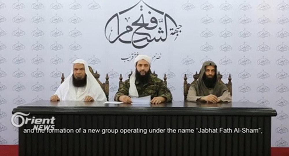 I leader dell'organizzazione terroristica Fateh al-Sham (foto d'archivio)