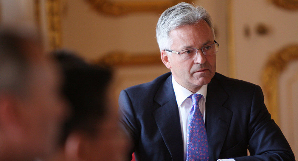 UK Minister for Europe Alan Duncan