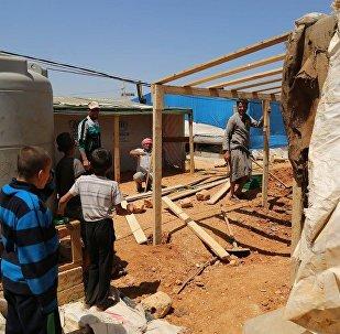 Campo di profughi siriani in Libano