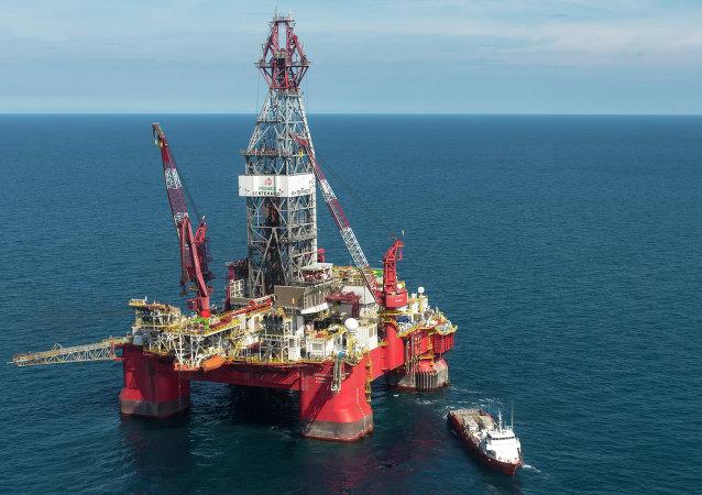 Trivella petrolifera nel Golfo del Messico