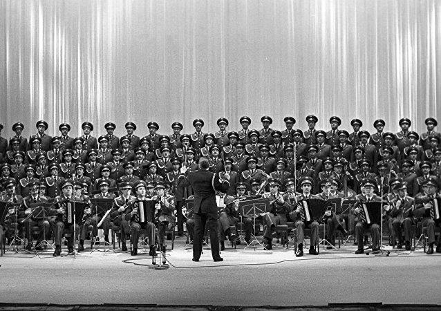 il Complesso Accademico di Canto e Ballo dell'Esercito Sovietico A.V. Aleksandrov
