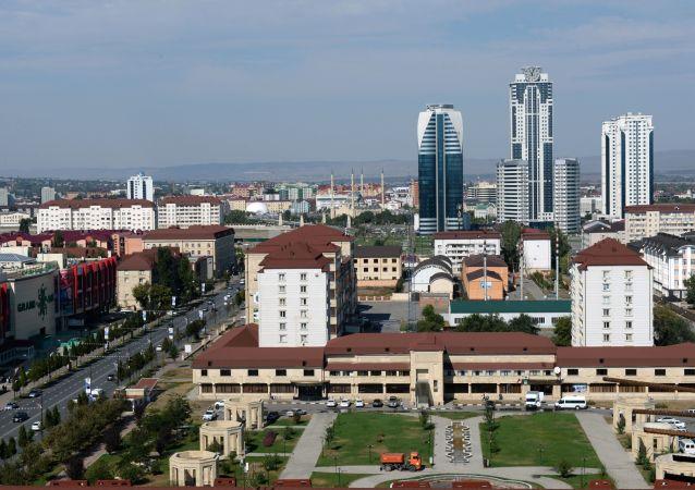 La città di Grozny in Cecenia