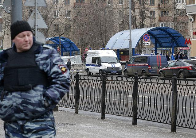 Poliziotto a Mosca