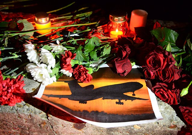 Vigil in memory of Sochi air crash victims