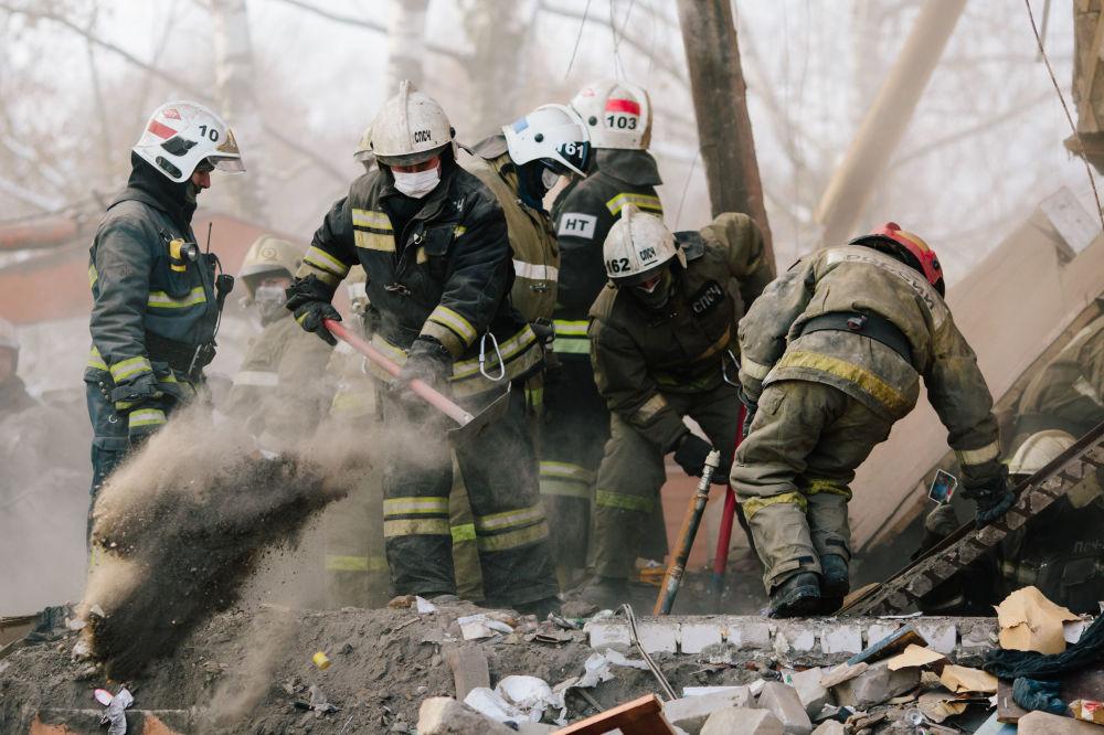Un giorno con gli eroi del Ministero delle Emergenze russo