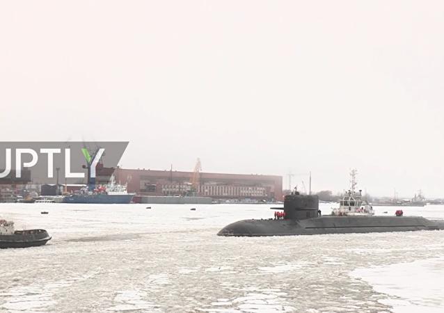 Il sottomarino nucleare Podmoskovye