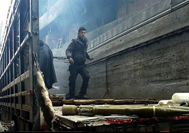 Forze governative in deposito di armi ad Aleppo est