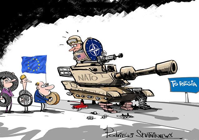 Carri armati americani per la guerra con la Russia