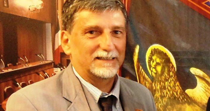 Palmarino Zoccatelli vice presidente dell'Associazione Veneto-Russia