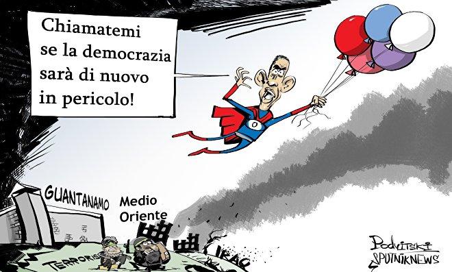Addio a Obama