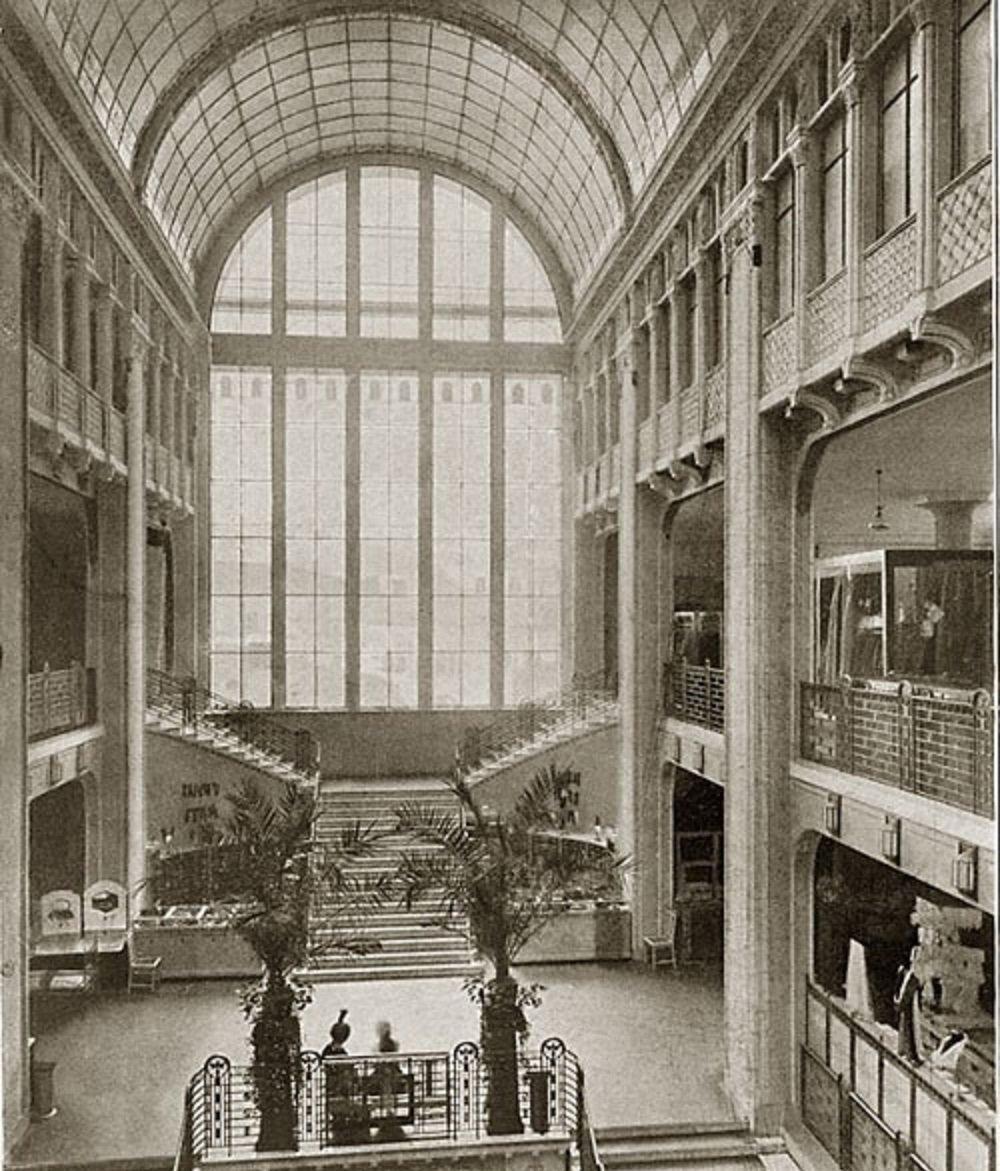 Il Voentorg di Mosca negli anni '20 del secolo scorso