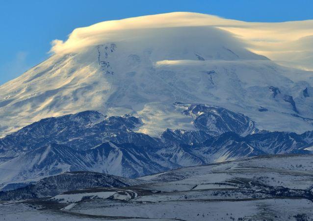 Il panorama di Elbrus