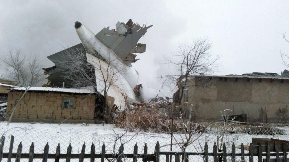 Sciagura area a Bishkek