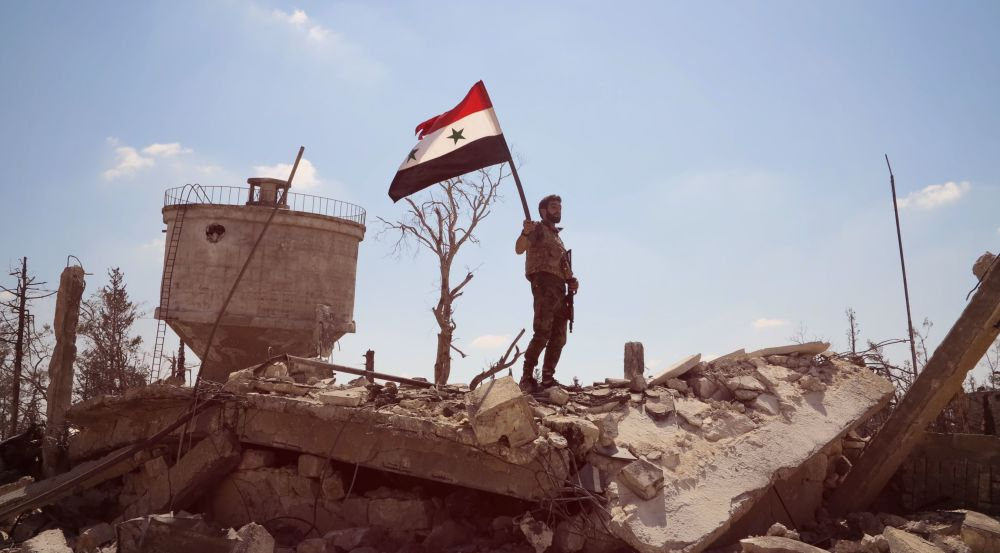 Siria: mostra delle foto scattate dai giornalisti russi.