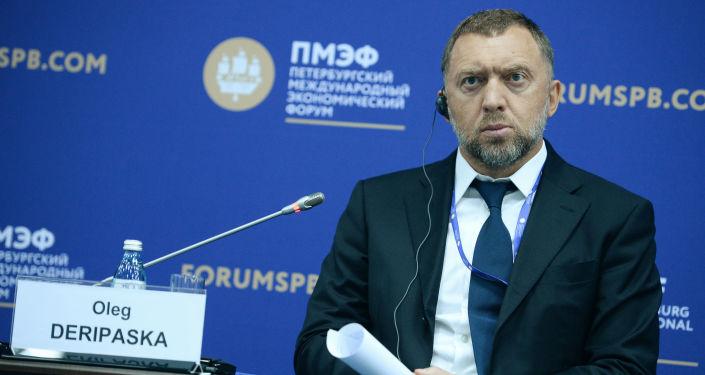 Oleg Deripaska, proprietario della società Rusal