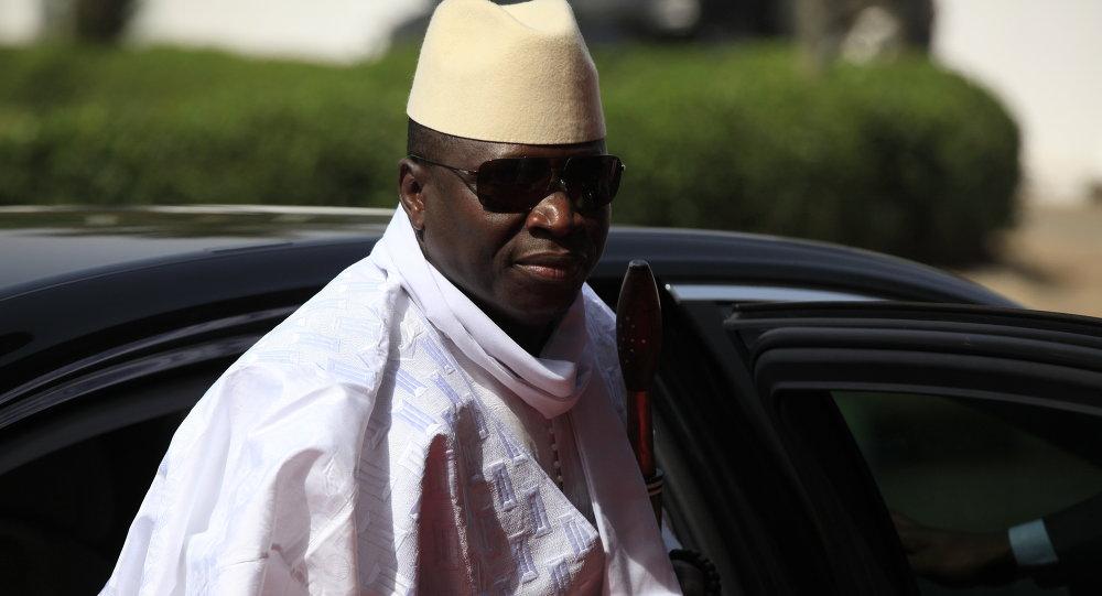 Presidente del Gambia Yahya Jammeh