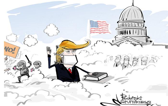 Il giuramento di Donald Trump