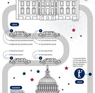 Insediamento di Trump alla Casa Bianca