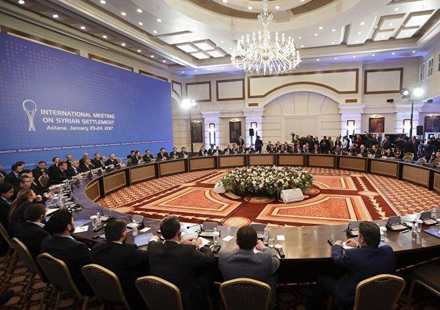 Colloqui sulla Siria ad Astana, Kazakistan