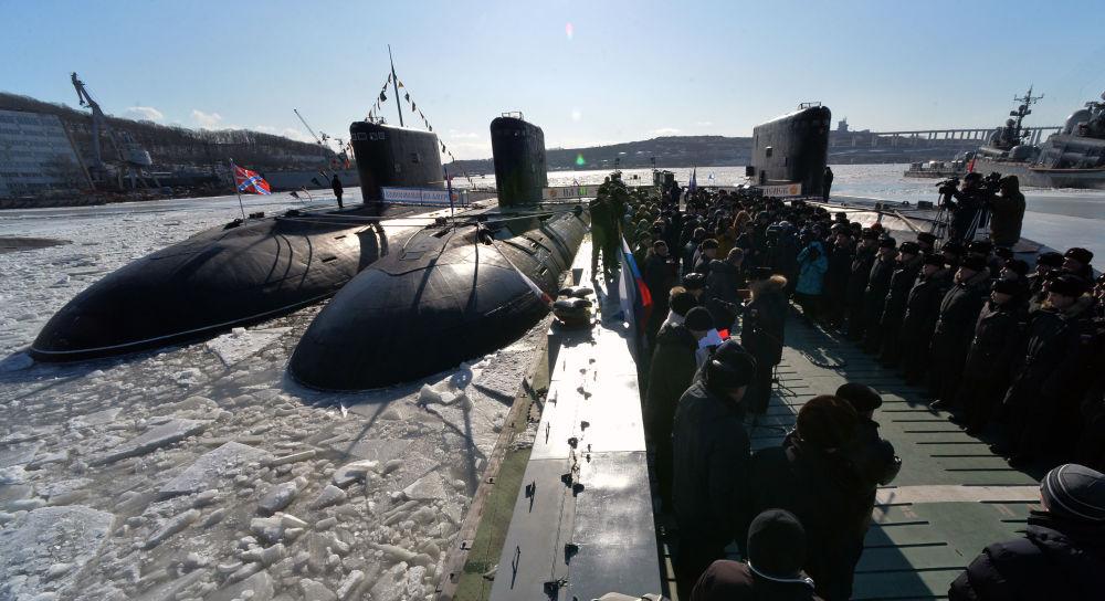 Il sottomarino komsomolsk sull 39 amur sputnik italia for Sottomarino italia
