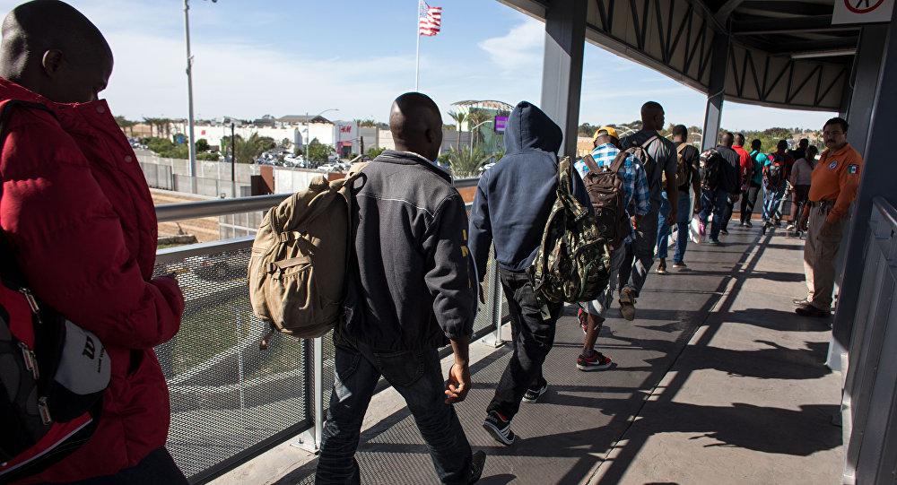 Migranti in cerca di asilio negli USA