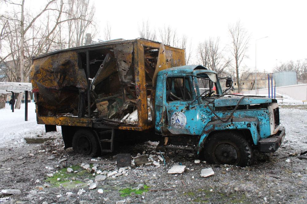 La situazione nel Donbass.