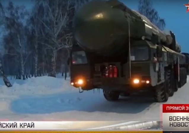Nuove manovre dei Topol nell'Altay
