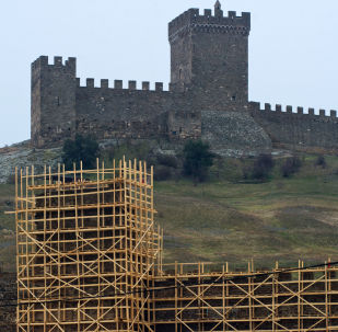 La fortezza genovese di Sudak