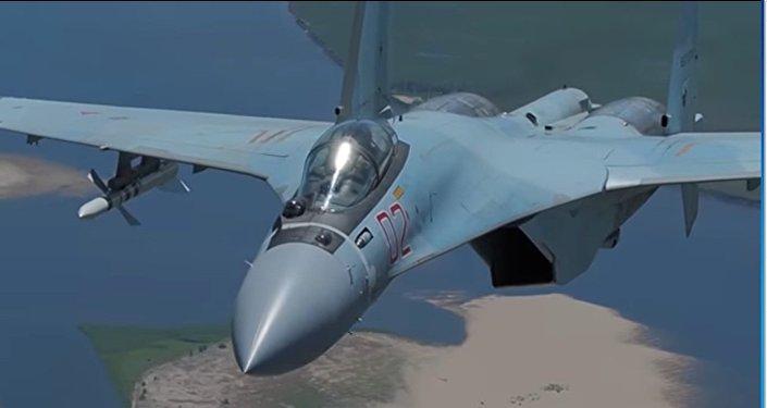caccia Sukhoi SU-35