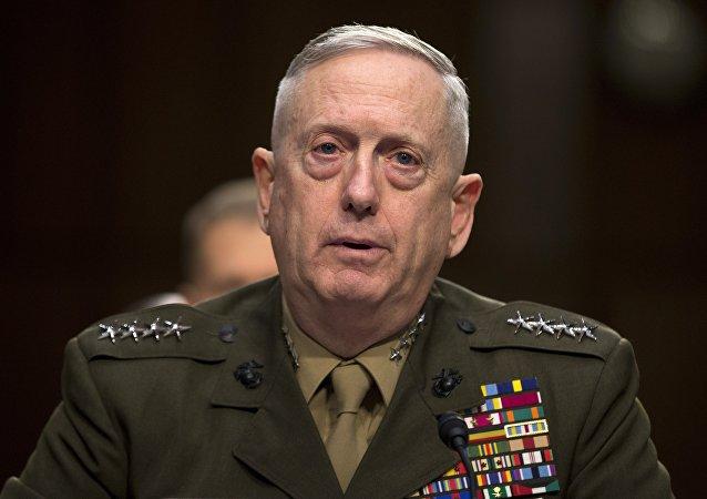 Segretario della Difesa USA (Pentagono) James Mattis