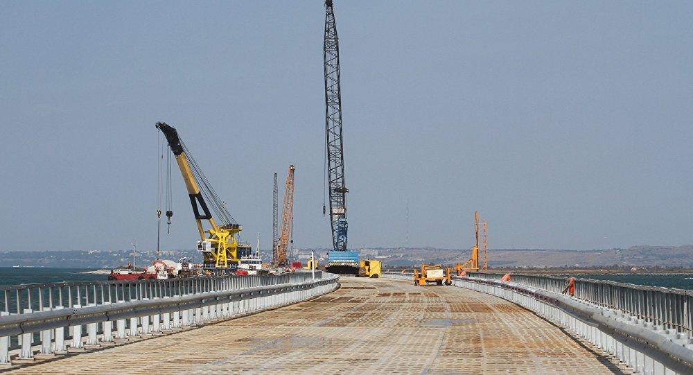 Il ponte sullo stretto di Kerch