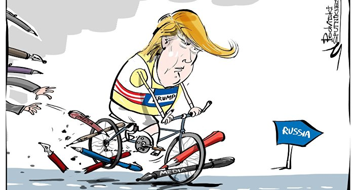 Trump contro i media