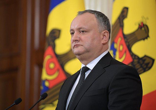 Igor Dodon, presidente della Moldavia
