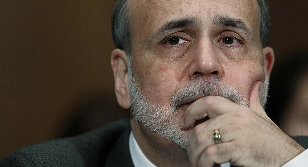 Il presidente di Federal Reserve  Ben Bernanke