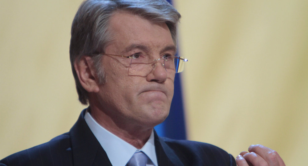 Ex presidente ucraino Viktor Yushchenko