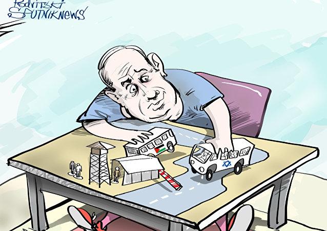 Israele, proposta di autobus separati per israeliani e palestinesi.