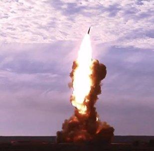 Il test del missile anti balistico A-135 Gazelle