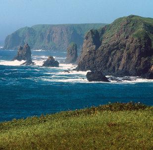 Roccie dell'isola Shikotan, Isole Curili