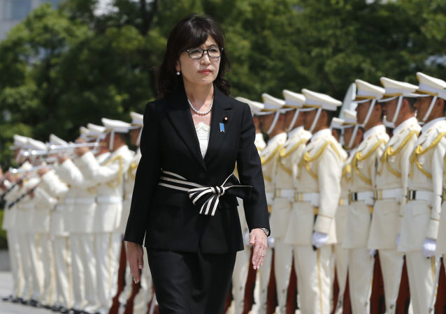 Ministro della Difesa giapponese Tomomi Inada