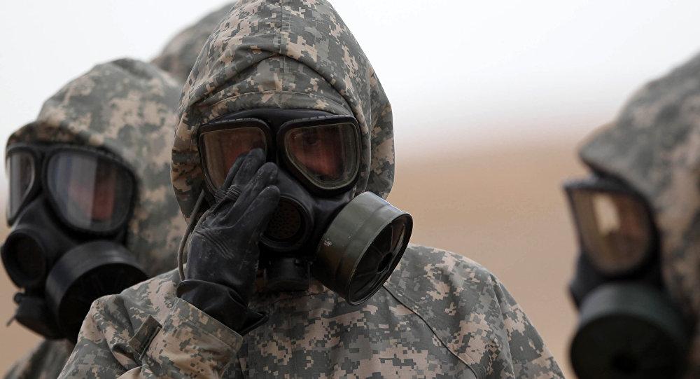 Esercitazioni con utilizzo di armi chimiche
