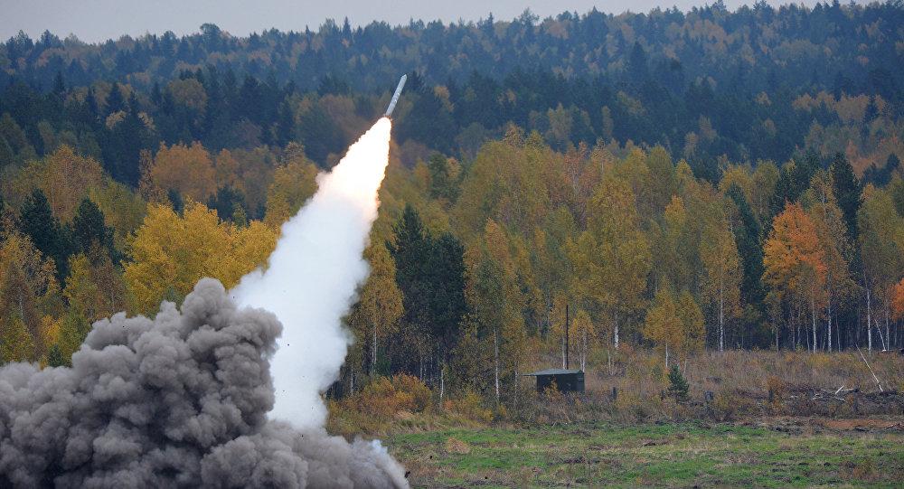 The BM-30 Smerch heavy multiple rocket launcher