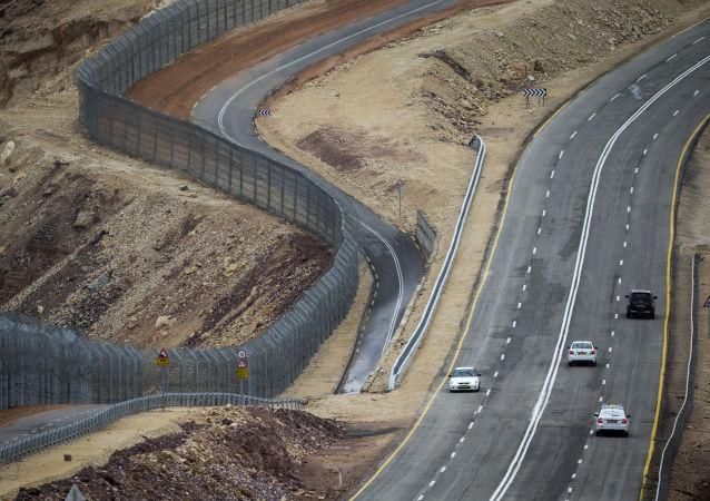 La frontiera tra Egitto ed Israele