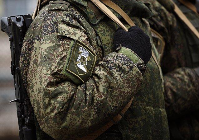Un soldato russo