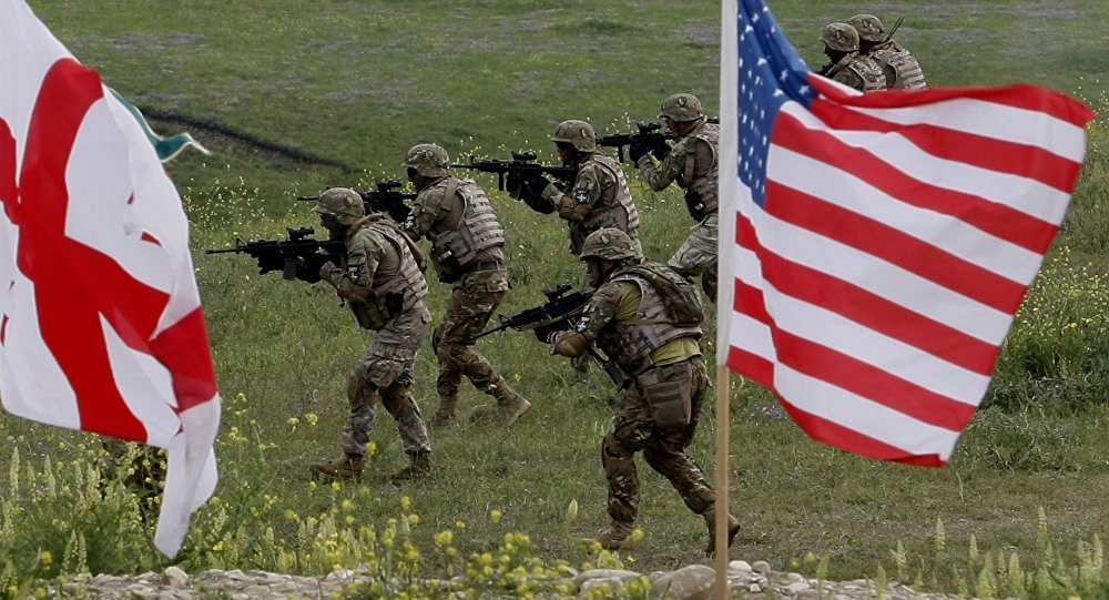 Esercitazioni militari congiunte tra USA e Georgia (foto d'archivio)