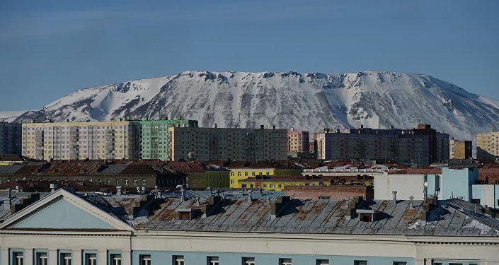 Veduta di Noril'sk
