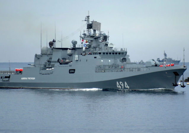 """La fregata """"Admiral Grigorovich"""""""