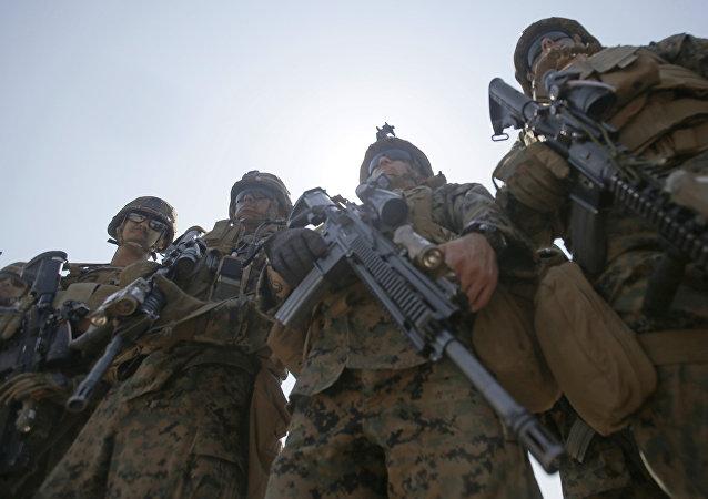 Marines americani (foto d'archivio)