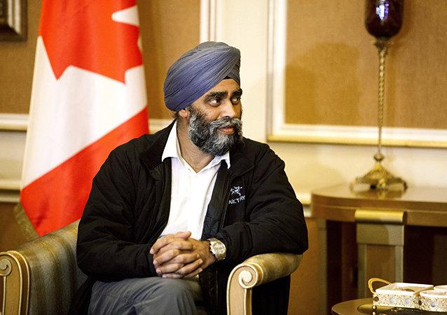 Harjit Sajjan, ministro della Difesa del Canada